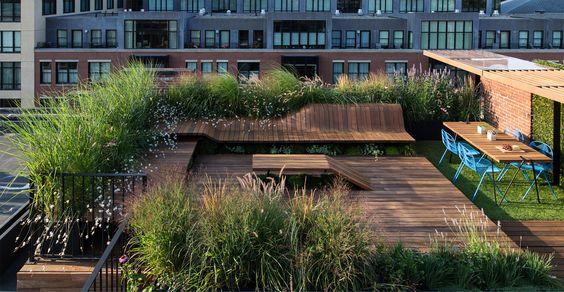 Áticos y terrazas de diseño